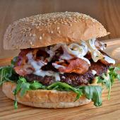 Bekon burger XXL