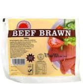 Beef Brawn Sliced