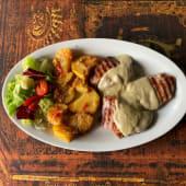 Filetto ibérico ai gorgonzola