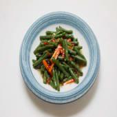 #33 Judías verdes con hojas de zanahorias fermentada al estilo Yun-nan