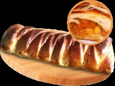 Кулеб'яка з карамелізованою грушею (400г)