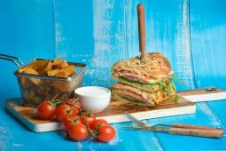 Sandwich cu prosciutto