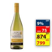 Frontera Chardonnay White 750Ml 11277