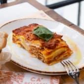 Le lasagne al forno Ca' Pelletti