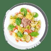 Паста Фреско з тунцем, фетою та запеченими овочами
