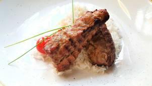 Mușchiuleţ de porc la grătar