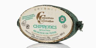 """Lata de chipirones en aceite de oliva """"Cambados"""" 6/8"""