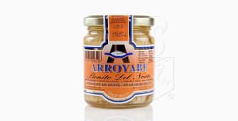 """Tarro de bonito del Norte en aceite de oliva """"Arroyabe"""" 250g."""