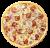 Pizza Quattro Carni średnia