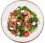 Салат з рваною яловичиною та гливами кімчі (350г)