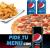Pizza Mediana + 2 bebidas + patatas