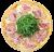 Pizza Toscana mała