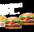 2 X Whopper Jr.® + Pommes frites srednji
