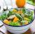 ქათმის სალათი კიტრით და ფორთოხლით 100გრ