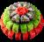 Суші-торт Red & Green (64шт)
