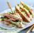 Club sandwich poulet + frites