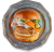 Тайський бургер з куркою, дайконом, морквою, кінзою (300г)