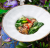 Азиатский салат с угрем