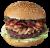Burger Biały Wilk XL