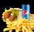 Meniu Falafel sandwich