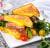 Френч-тост із запеченим лососем і сиром (370г)