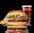Rebel Whopper Burger Zestaw