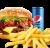 Meniu American Bbq Burger de vita sandwich