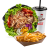 Chicken kebab menu posuda – mala