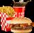 Meniu BaconHamburger