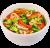 Локшина рисова з овочами XL