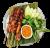 Курячий сатай на грилі з імбирем, чилі, кінзою та цибулею (260г)