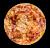 Pizza Dolç i Bacó amb Provolone (mitjana)