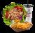 Chicken kebab menu posuda – velika