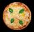 Pizza La Margarita (mitjana)