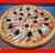 პიცა სამარხვო (8 ნაჭრიანი)