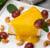 Чізкейк з манговим кюлі і сезонними ягодами (240г)