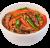 Локшина рисова з телятиною XL