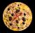 Pizza Tonyina amb Olivada (mitjana)