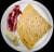 Crep de jamón ibérico y brie