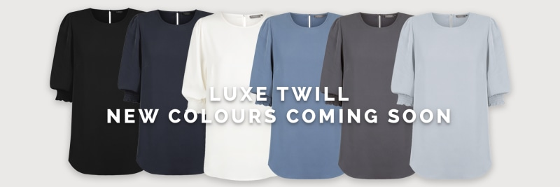 Luxe Twill - new colours coming soon