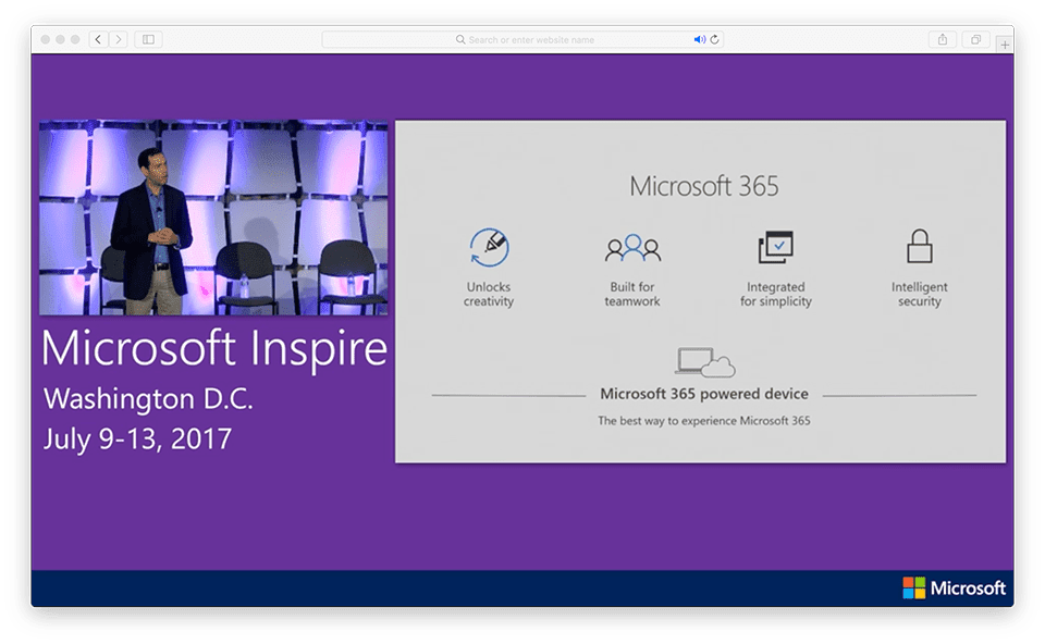 Microsoft 365 powered device