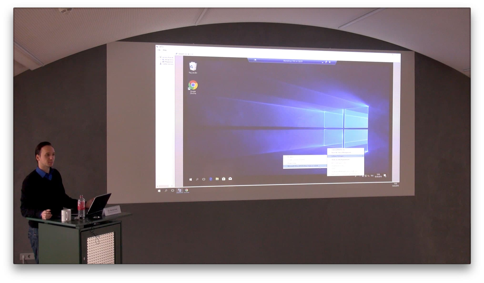 Training Windows Provisioning