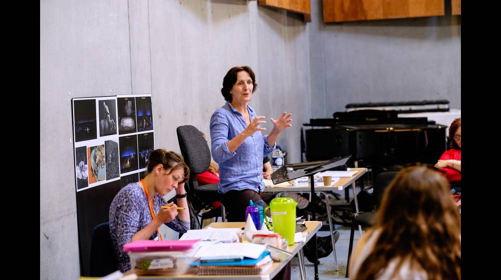 Director Fiona Shaw and Assistant Director Fiona Dunn