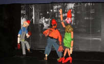 Puppets were created by inmates in response to Verdi's Falstaff