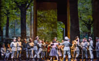 Poliuto, Glyndebourne Festival 2015. Glyndebourne Chorus. Photographer: Tristam Kenton