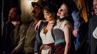 Carmen, Glyndebourne Festival 2015. Dancers Anjali Mehra and Aurélie Poles.