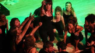 Sorceress and Glyndebourne Youth Opera Chorus