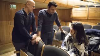 Madama Butterfly rehearsal - Tour 2016