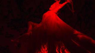 Glyndebourne Festival 2015, L'enfant et les sortilèges.  Fire (Sabine Devieilhe). Photographer: Richard Hubert Smith