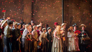 Carmen, Glyndebourne Festival 2015. Children's Chorus.